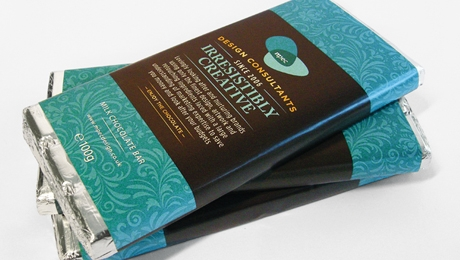Self Promotional Chocolate Bars